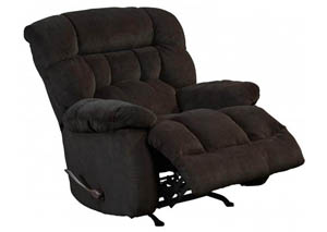 Image for Daly Chocolate Rocker Recliner