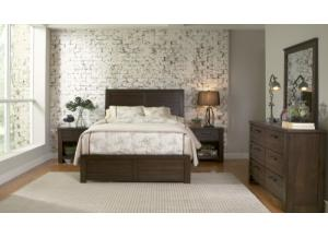 Image for Ruff Hewn Queen Bed, Dresser, Mirror, Nightstand and Chest