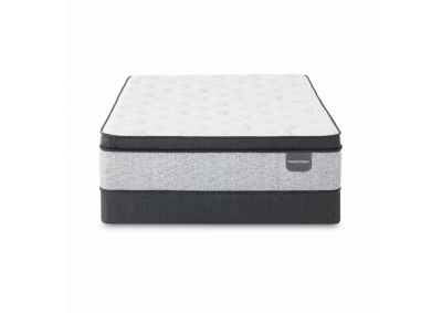 Image for Serta Majestic Willow Grove Pillow top Plush Queen Mattress w/boxspring
