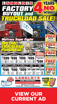 Truckload Sale - View Full Ad