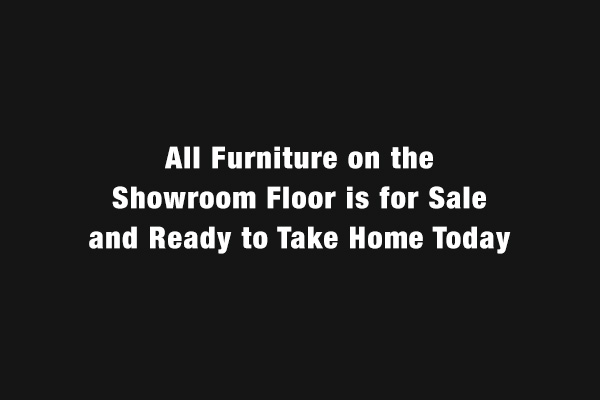Showroom Floor Sale