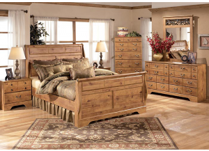 Image for Bittersweet Bed including Restonic Mattress Set