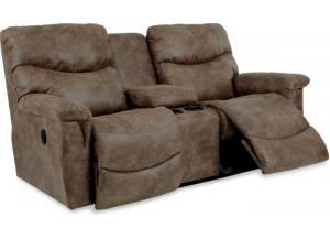 Image for La-z-boy James Reclining Loveseat w/Console