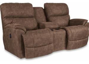 Image for La-z-boy Trouper Power Reclining Loveseat with Console