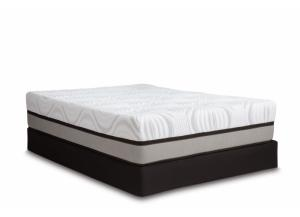 "Image for Juneau 14"" Ultra Plush Gel/Copper-Infused Memory Foam Queen Mattress Set"