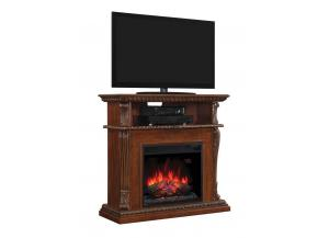 Image for Corinth Premium Walnut Fireplace