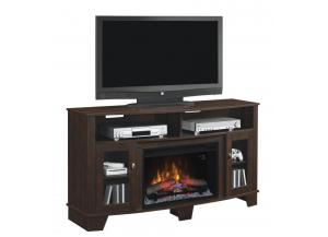 Image for LaSalle Engineered Midnight Cherry Fireplace