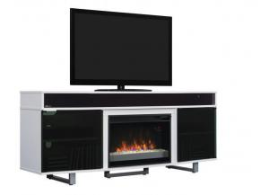 Image for Enterprise High Gloss White Fireplace