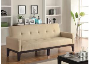 Image for Cream & Cappuccino Sofa Bed