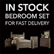 In Stock Bedroom Set