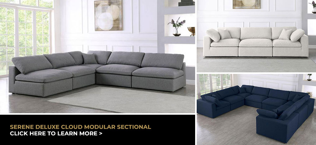 Serene Deluxe Cloud Modular Sectional