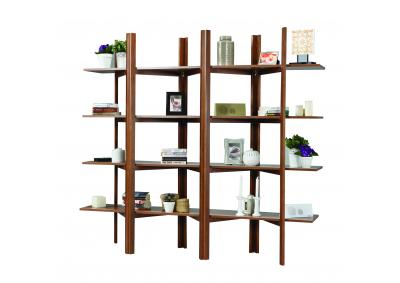 Image for Accordion Bookcase (Walnut)