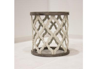 Image for BROCADE END TABLE
