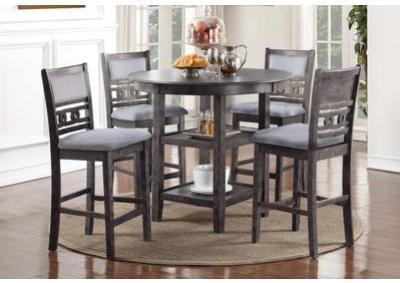 Image for Gia Grey Counter Height Dining Set