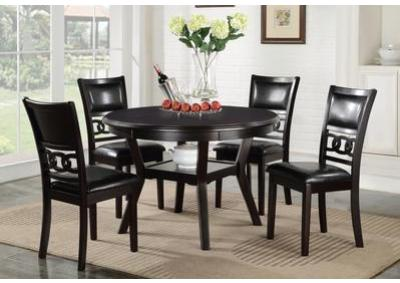 Image for Gia Ebony Dining Room Set