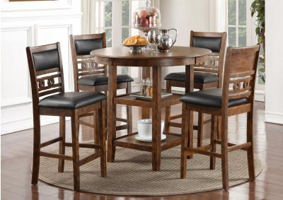 Image for Gia Brown Counter Height Dining Set