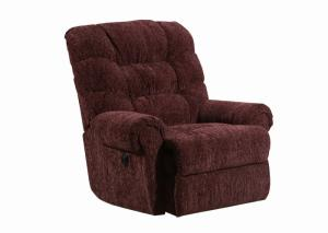 Image for 4204 Reflex Merlot recliner