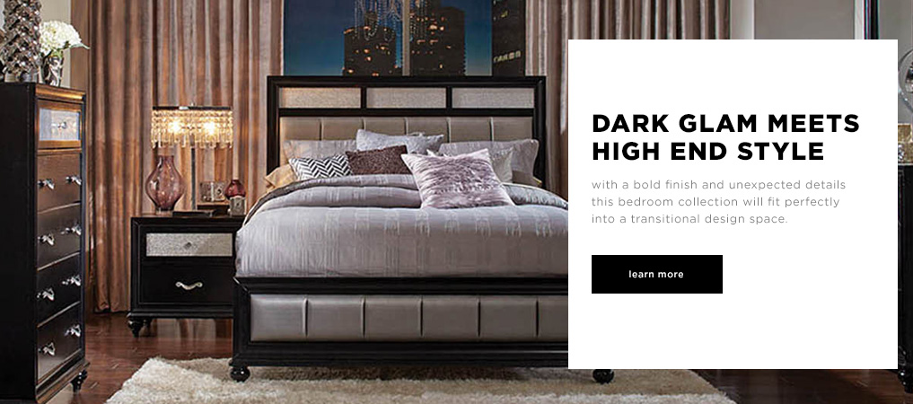 Dark Glam Meets High End Style - Explore Bedrooms