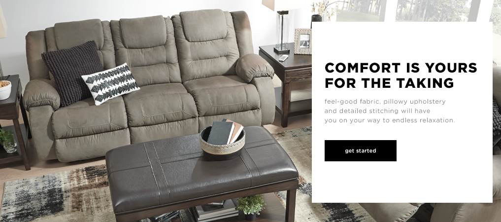 Comfort is Yours for the Taking - Explore Living Rooms