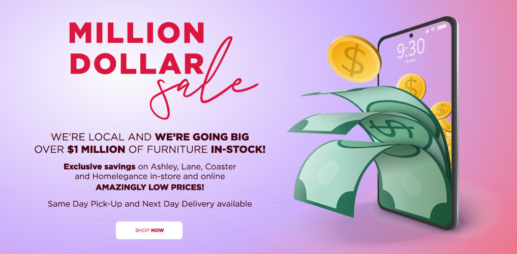 Million Dollar Sale - Exclusive Savings in-store and online