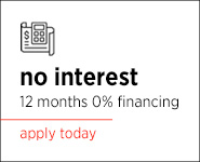 No Interest Financing