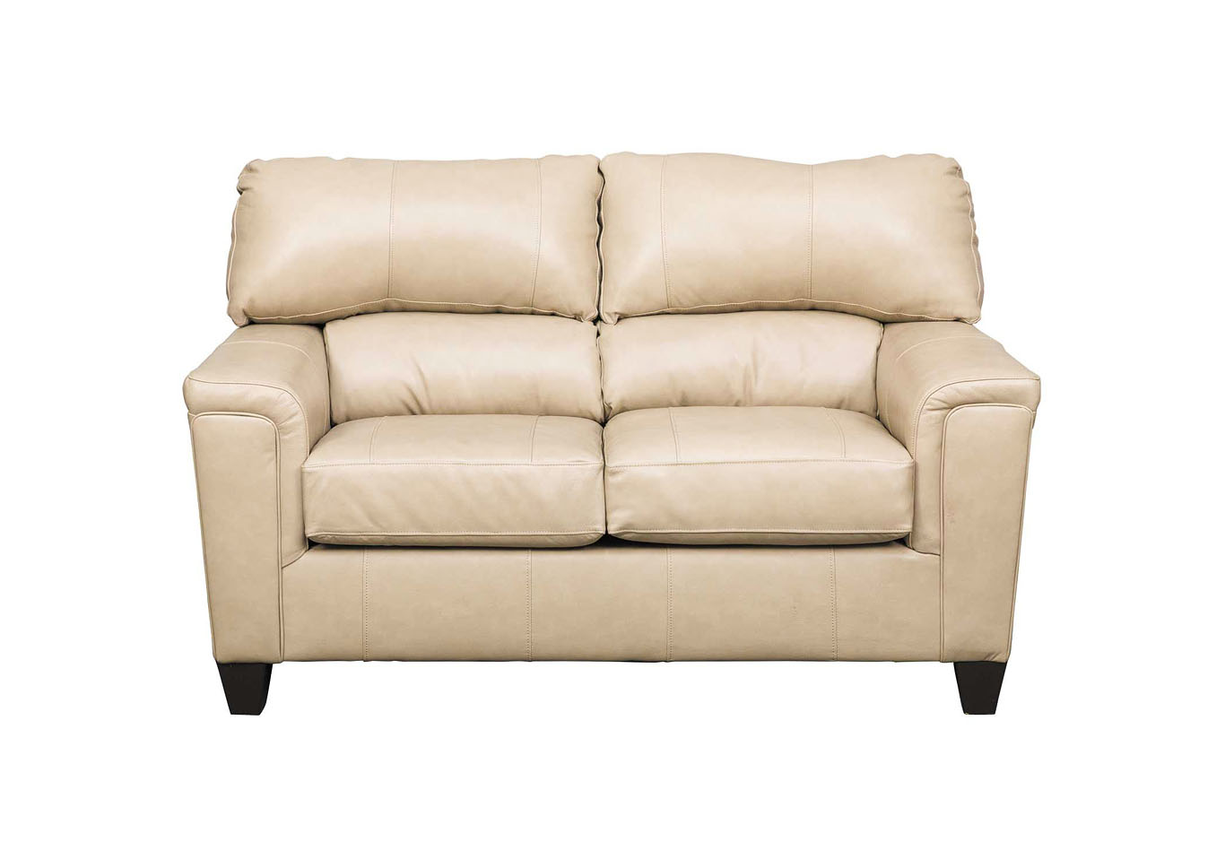 Lane Furniture  Kennedy Top Grain Leather / Mate Love Seat Putty,Instore