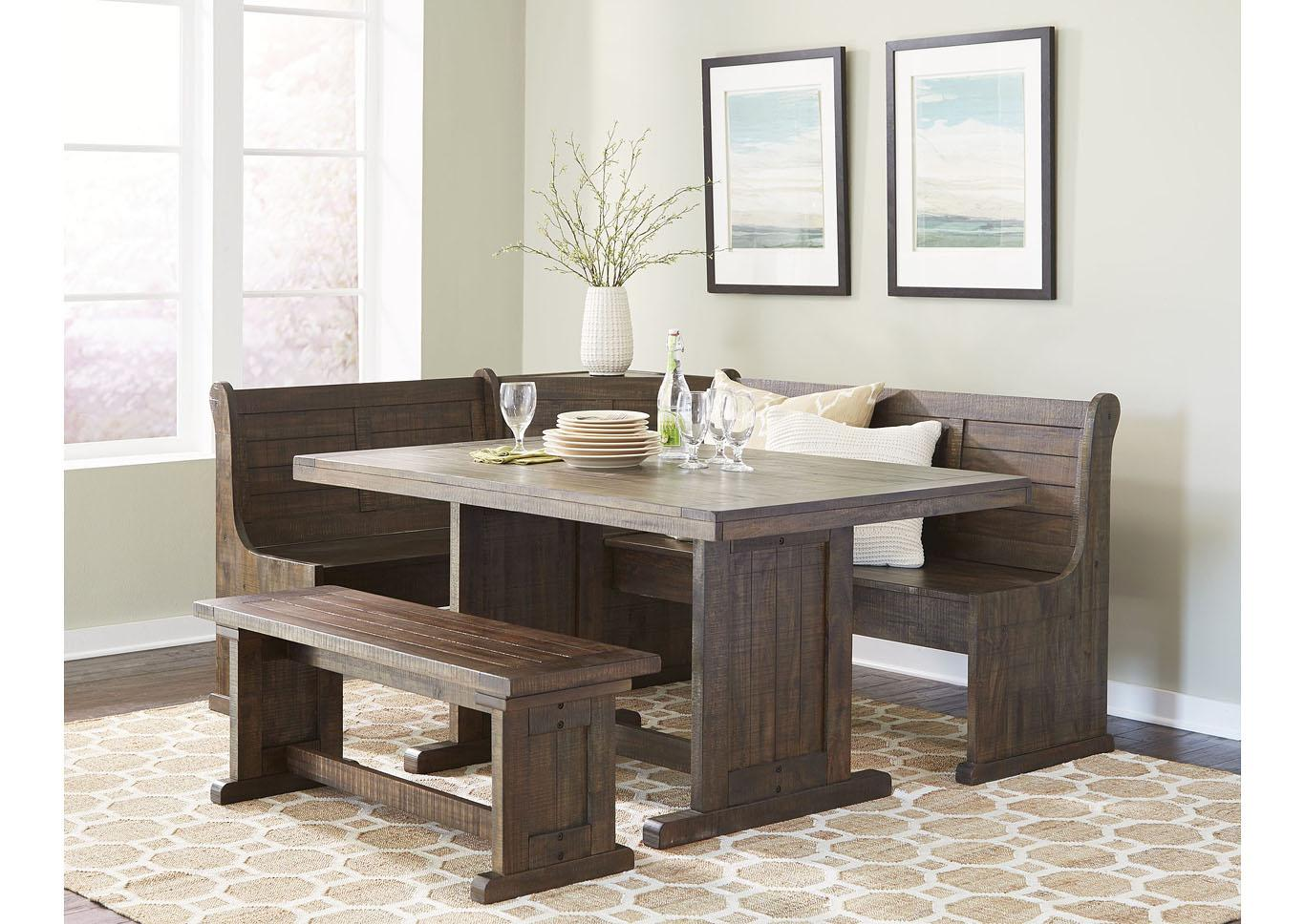 Homestead Breakfast Nook with Side Bench,Instore