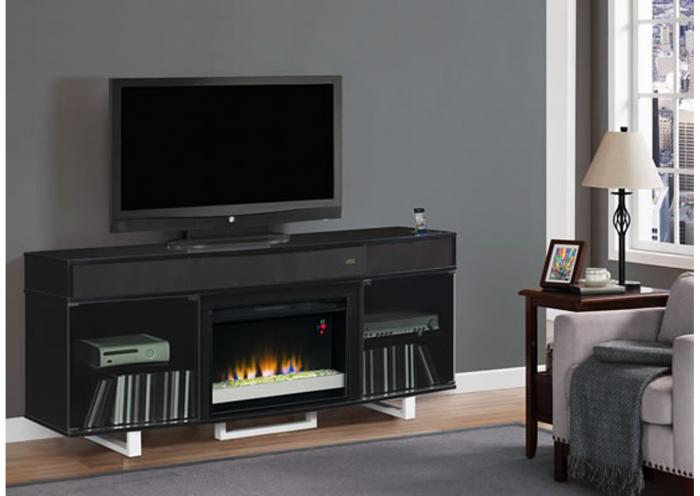 Enterprise Home Theater 56 Inch High Gloss Black,Instore