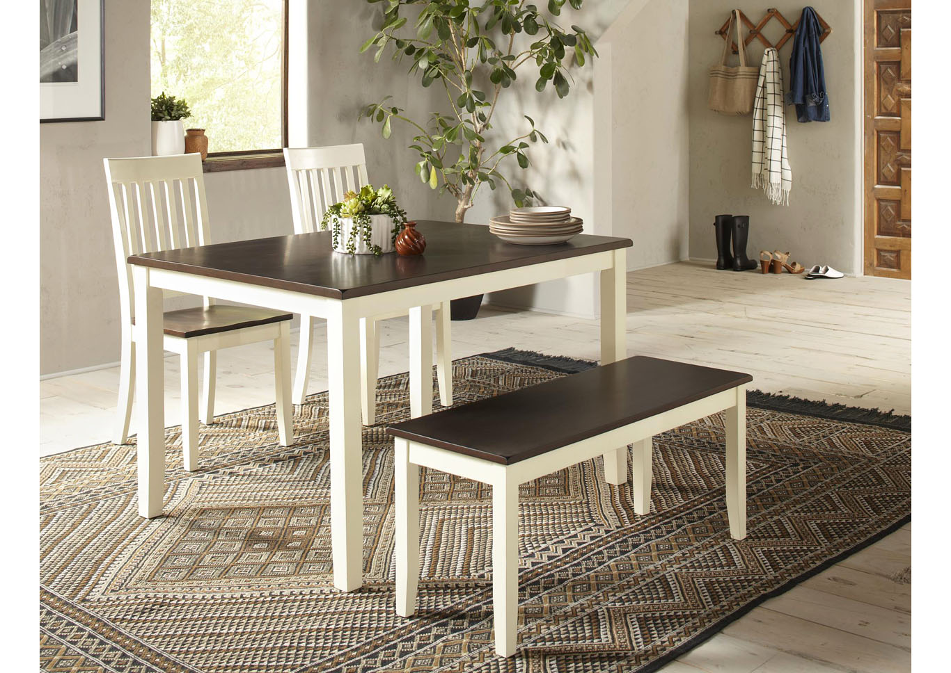 Deca 4pc Dining Room Set,Instore