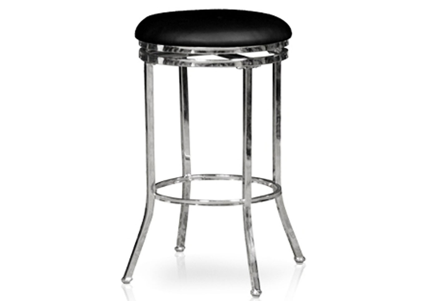 Artisan 2pc Swivel Stool Set - Black,Instore