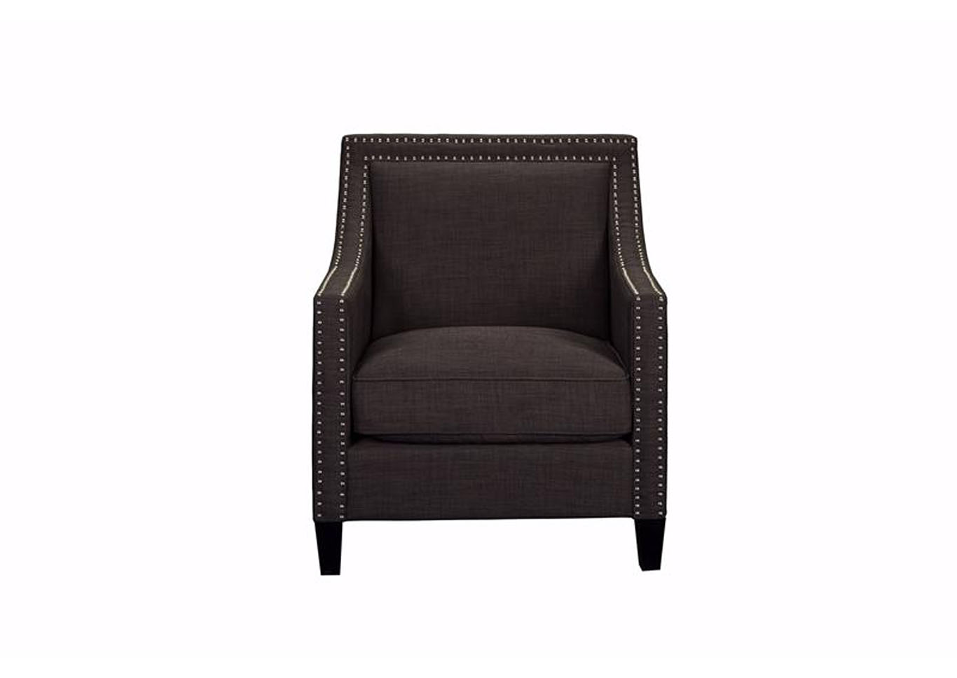 Erica Accent Chair - Heirloom Charcoal,Instore