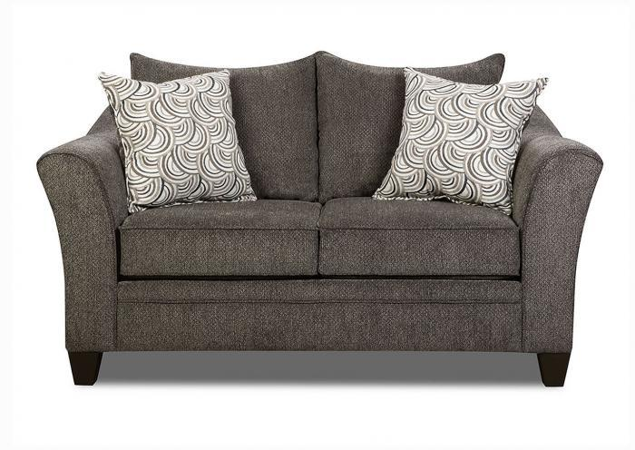 Reagan Love Seat - Albany Pewter,Instore