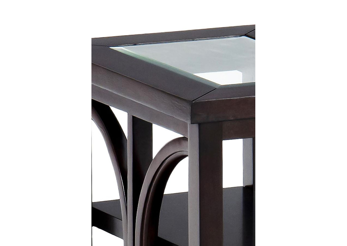 Belize Contemporary End Table,Instore