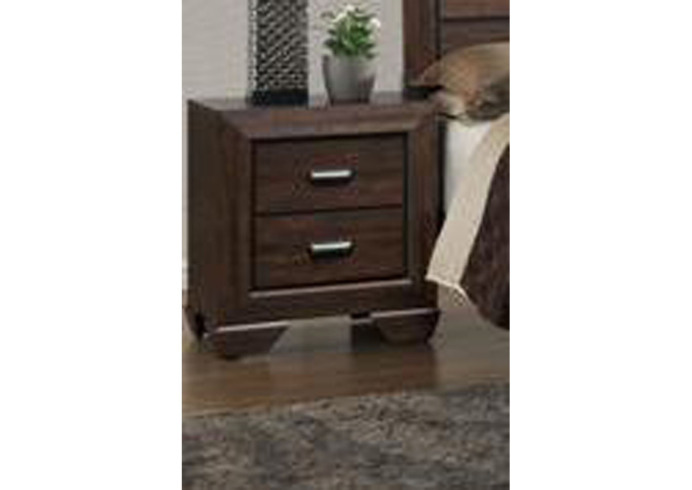 Farrow Nightstand - Brown,Instore