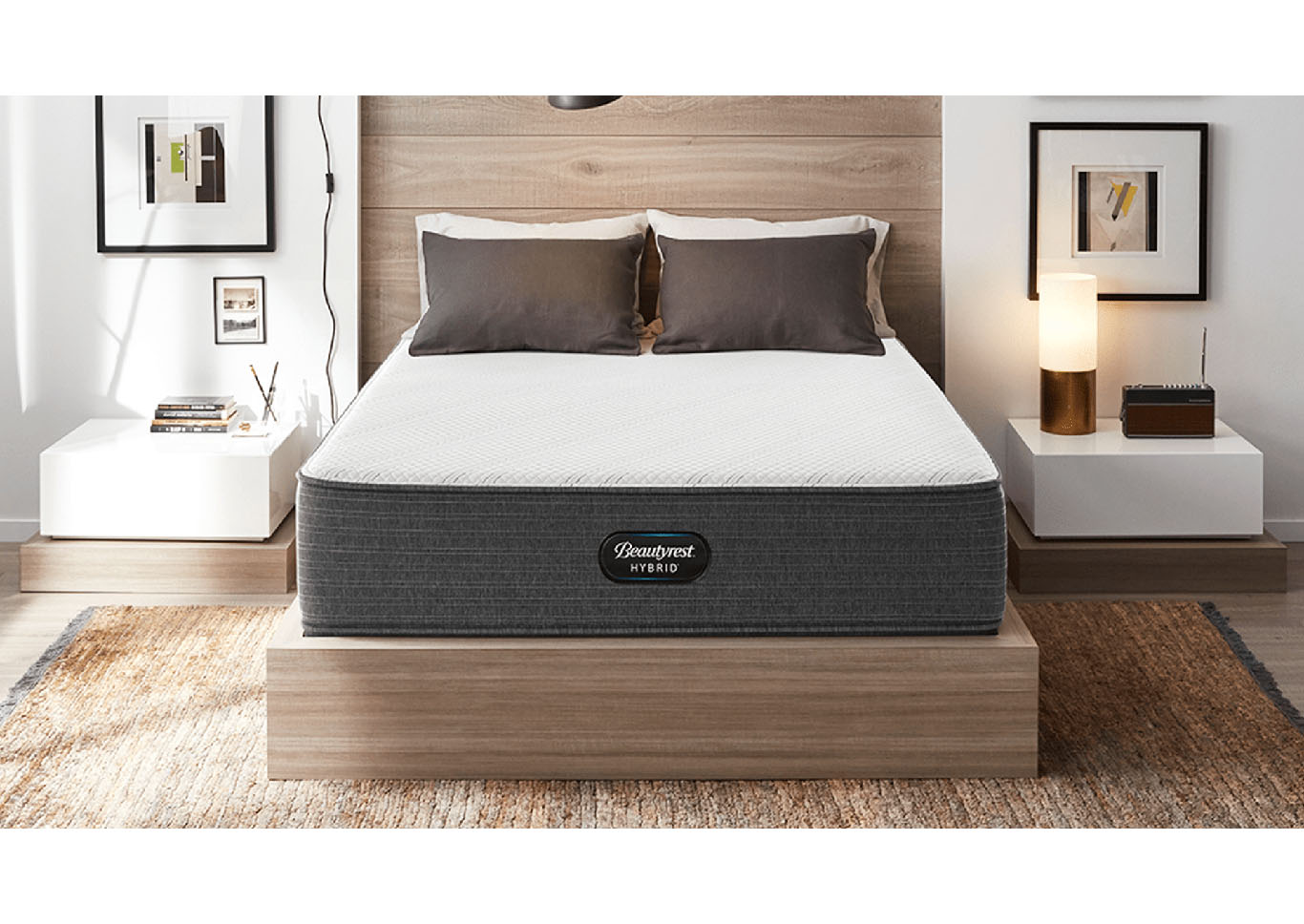 Beautyrest Hybrid Westside Medium Mattress Only California King,Instore