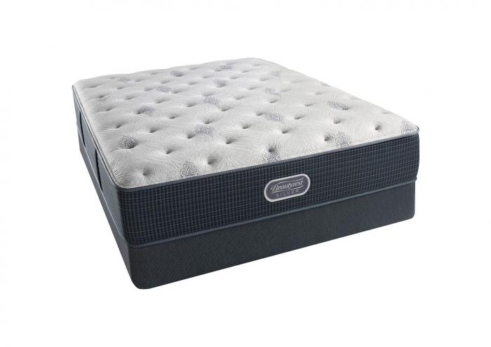 Beautyrest Silver Eastview Plush Mattress and Foundation California King,Instore