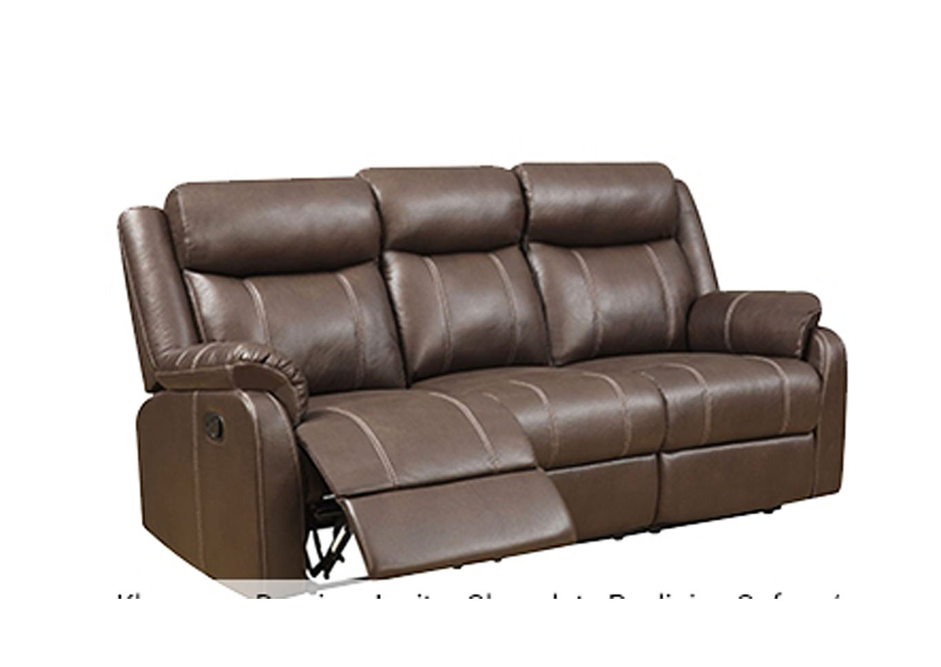 Domino Dual Reclining Sofa and Love Seat,Instore