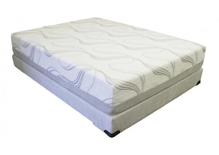 "Pure Gel 12"" Memory Foam Mattress - Queen,Instore"