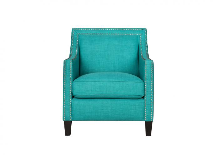 Erica Accent Chair - Heirloom Aqua,Instore
