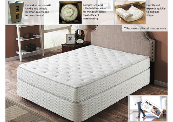 "Galaxy 9"" Mattress - California King,Instore"