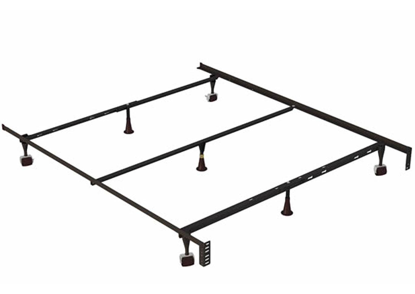 Holly-Lock Bed Frame - Cal King/Eastern King,Instore