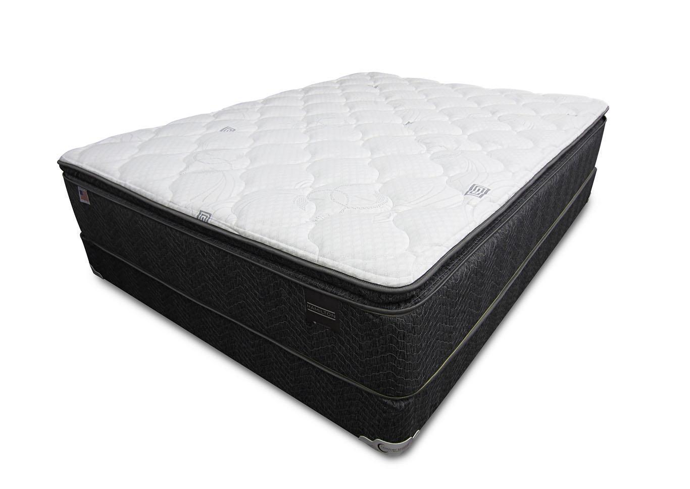 Hamilton Pillow Top Mattress and Foundation - Twin,Instore