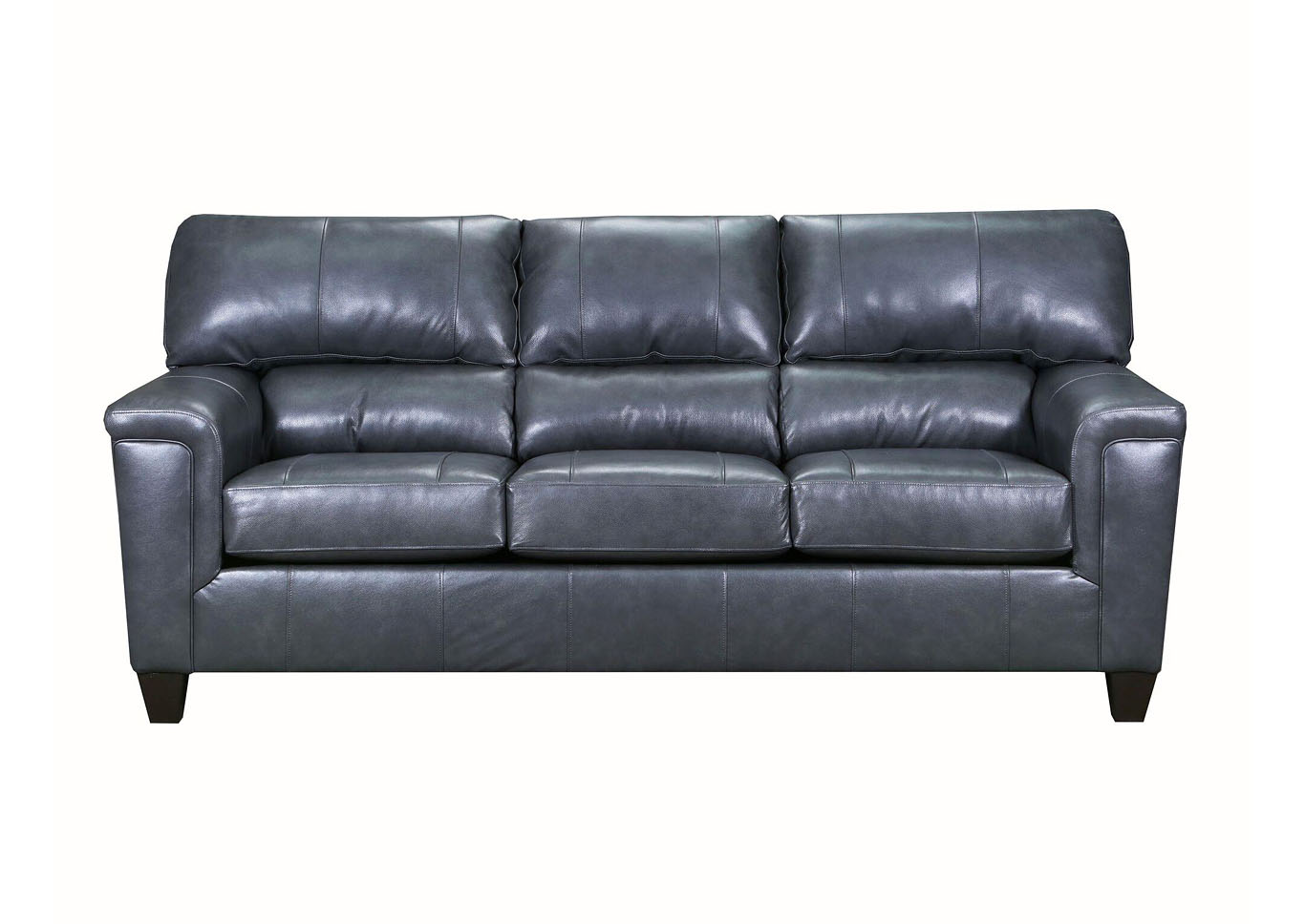 Lane Furniture  Kennedy Top Grain Leather / Mate Sofa  Fog,Instore