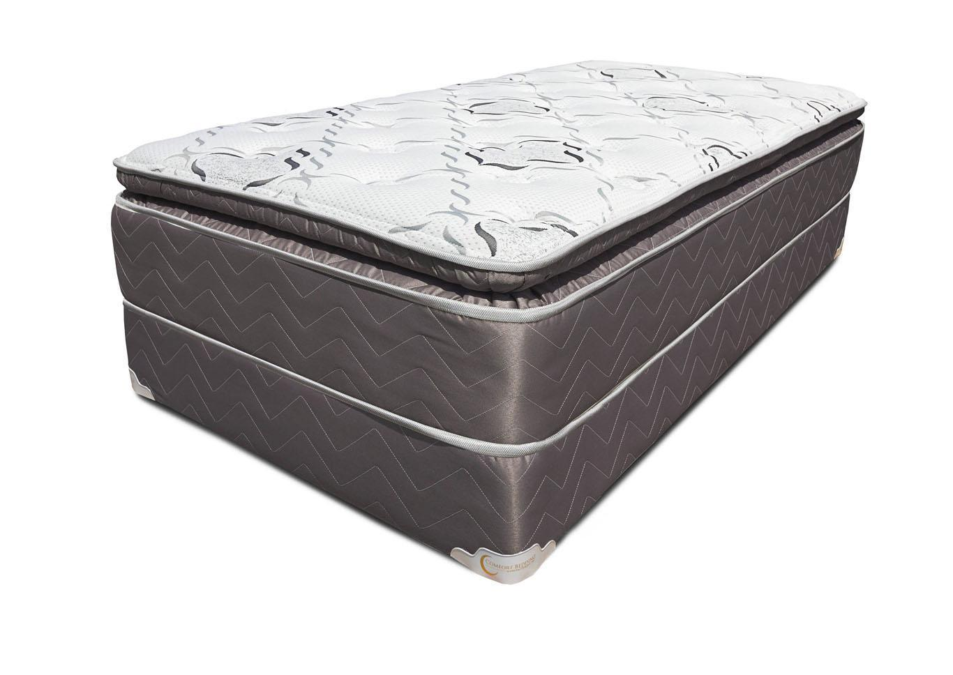 Cordova Pillow Top Mattress and Foundation - California King,Instore