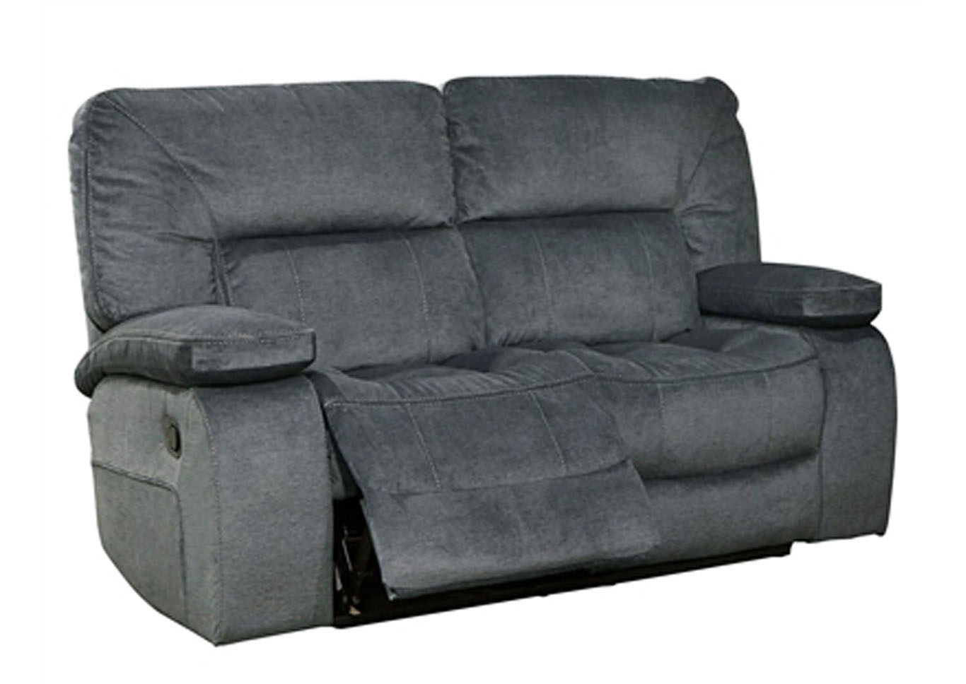 Chapman Dual Reclining Love Seat Polo Blue,Instore