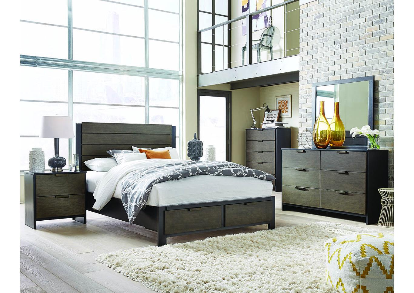 Paxton Storage Platform Bed Eastern King,Instore