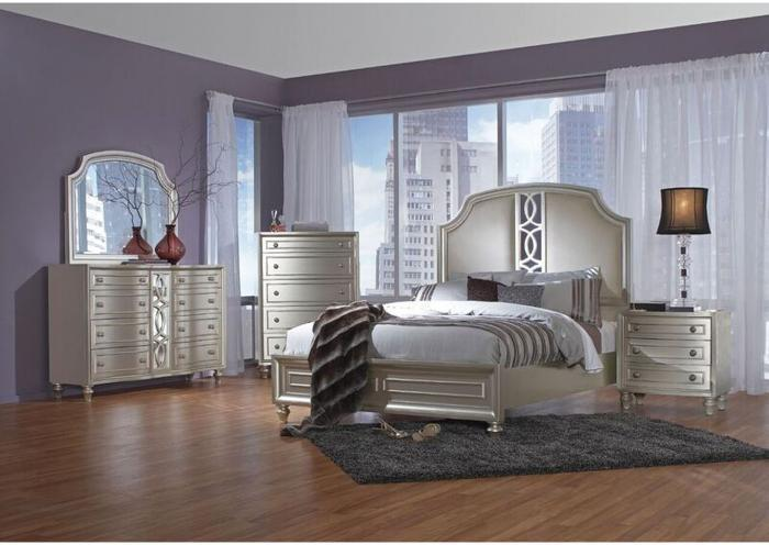 Fantasia Upholstered Bed - Queen,Instore