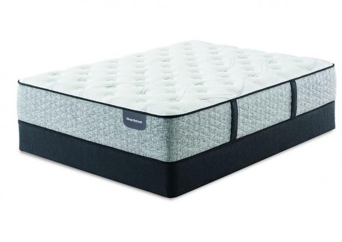 Serta Sleep Retreat Park City Extra Firm Mattress and Foundation Twin XL (Extra Long),Instore