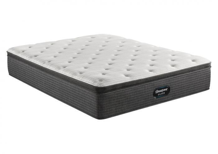 Beautyrest Silver South Bend Medium Pillow Top Mattress Only Queen,Instore