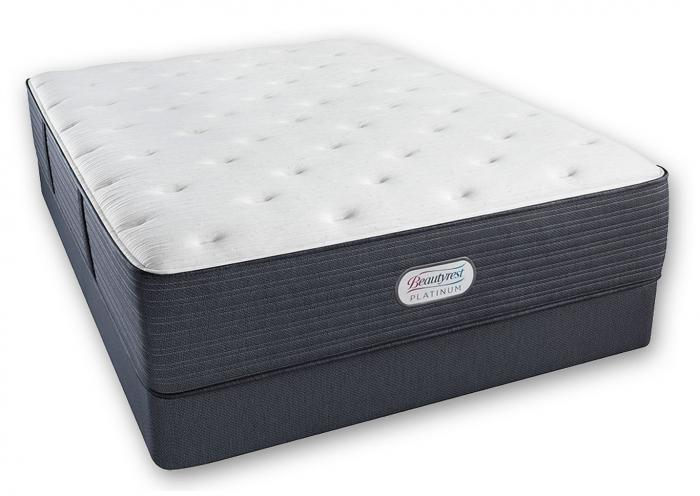 Beautyrest Platinum Spring Grove Luxury Firm Mattress and Foundation Queen,Instore